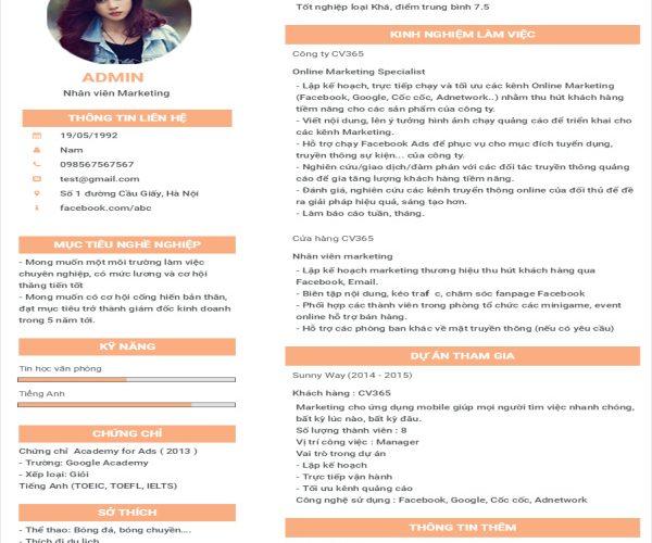Tạo CV xin việc bằng PowerPoint