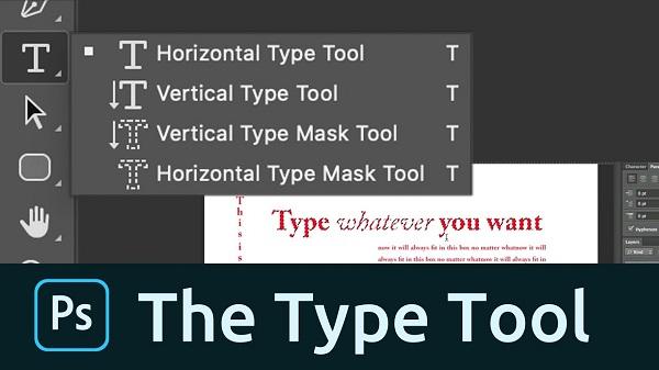 Các nhóm công cụ Text trong Photoshop mang tới hiệu quả sử dụng cao