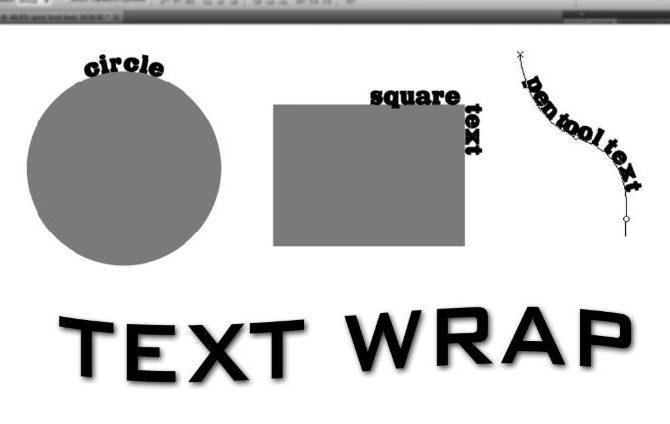 Wrap Text giúp người dùng chỉnh chữ theo độ cong, khoảng cách dễ dàng
