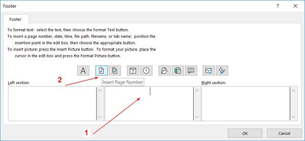 Cách đánh số trang trong excel 2010 theo ý muốn bằng cửa sổ Page Setup