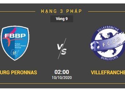 Nhận định trận đấu giữa Bourg Peronnas vs Villefranche