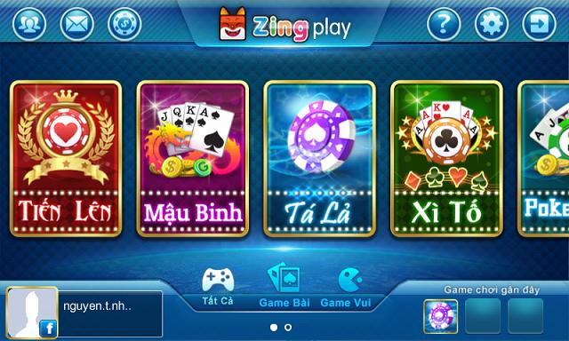 ZingPlay-một trong những cổng game bài đổi thưởng đình đám một thời