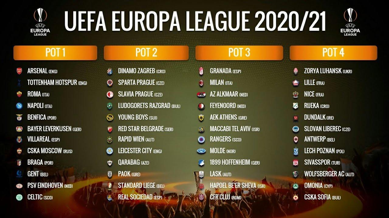 Europa League là đấu trường của các đội bóng có tên tuổi nhưng kém may mắn