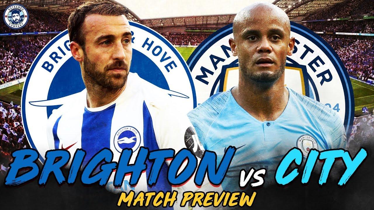 Cuộc đọ sức nảy lửa giữa 2 đối thủ là Man City vs Brighton.