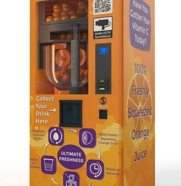 TSE địa chỉ phân phối máy bán nước cam uy tín chất lượng