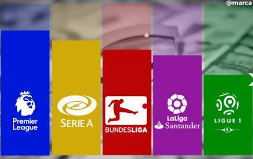 Những giải bóng đá hàng đầu đều được phát sóng tại đây
